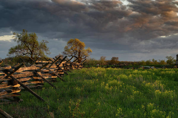 Photograph - Sunset Fence by Dan Urban