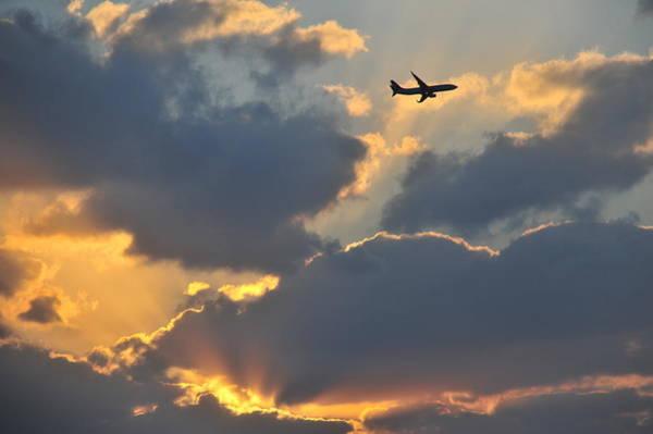 Okinawa Photograph - Sunset Flight by Taro Hama @ E-kamakura