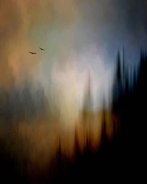 Rockies Digital Art - Sunset Flight by Tim Palmer