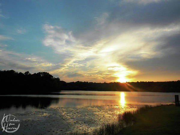 Photograph - Sunset From Heaven by Matthew Seufer
