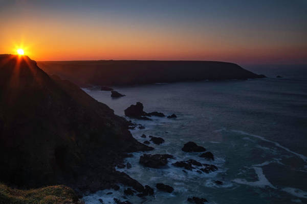 Wall Art - Photograph - Sunset From Hell's Mouth by Nigel Jones