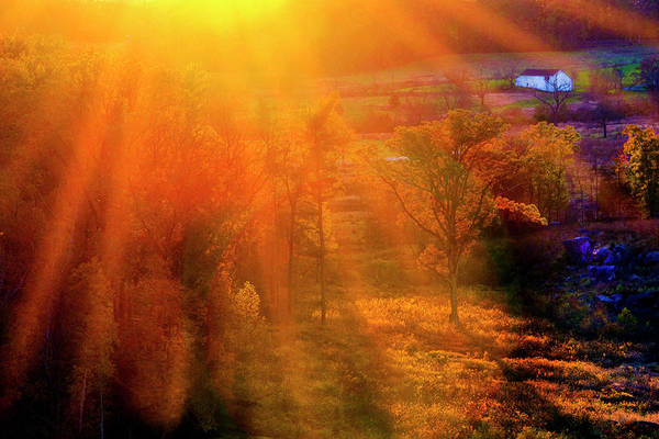 Wall Art - Photograph - Sunset From Little Round Top by Paul W Faust - Impressions of Light