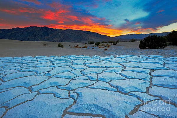National Wall Art - Photograph - Sunset From Mesquite Flat Sand Dunes by Doug Meek