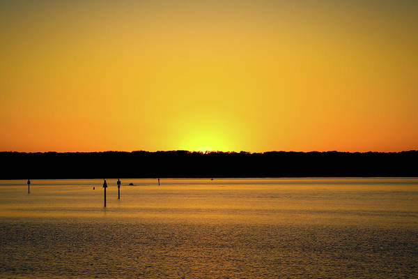 Photograph - Sunset From National Harbor by Lora J Wilson