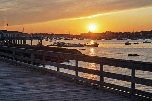 Photograph - Sunset From The Salem Willows Pier Salem Ma by Toby McGuire