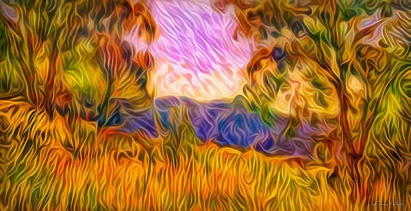 Digital Art - Sunset Harmony Light by Joel Bruce Wallach