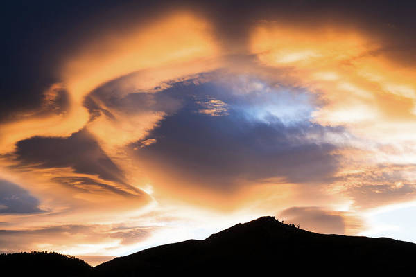 Photograph - Sunset In Golden, Colorado by Jeanette Fellows