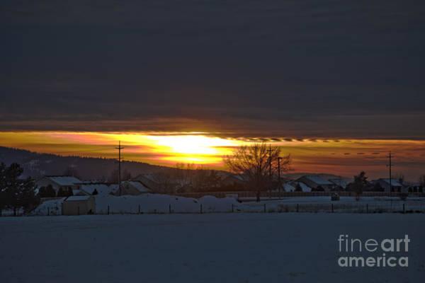 Photograph - Sunset In Hayden by Matthew Nelson