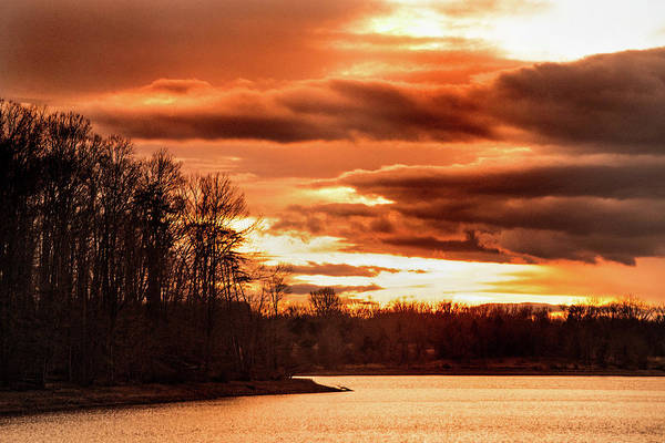Photograph - Sunset In Maryland by Don Johnson