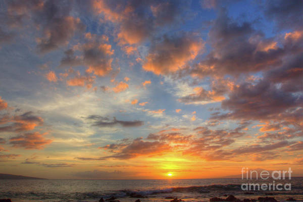 Andrew Jackson Wall Art - Photograph - Sunset In Maui Hawaii  by Andrew Jackson