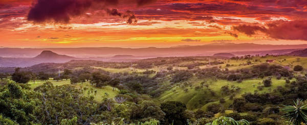 Wall Art - Photograph - Sunset In Santa Rosa In Costa Rica by Alexey Stiop