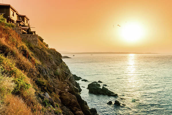 Wall Art - Photograph - Sunset In Sozopol by Alexey Stiop