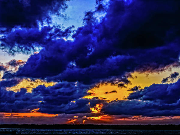 Photograph - Sunset In St. Petersburg by Louis Dallara
