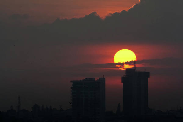 Bangalore Photograph - Sunset In The City by Nishanth Jois