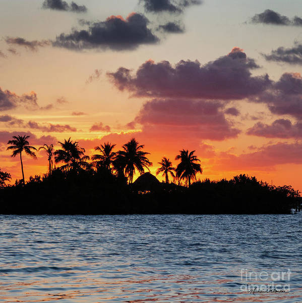 Photograph - Sunset In The Florida Keys by Michelle Constantine