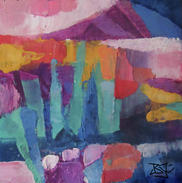 Painting - Sunset by Jean Batzell Fitzgerald