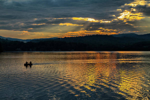 Photograph - Sunset Kayaking  by Betty Pauwels