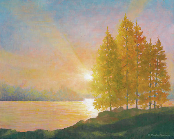 Painting - Sunset Lake by Douglas Castleman