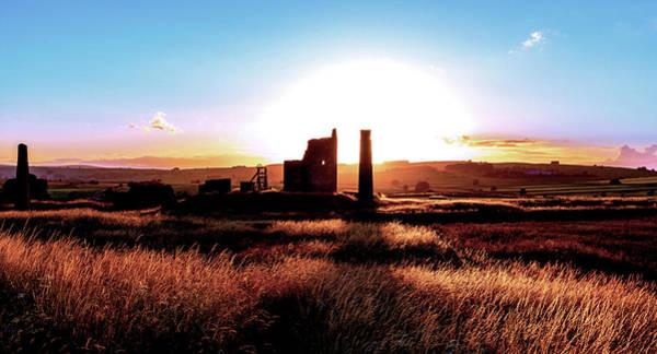 Photograph - Sunset. Magpie Mine. by John Dakin