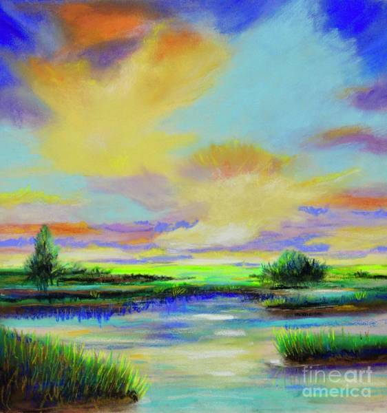 Painting - Sunset by Mary Scott