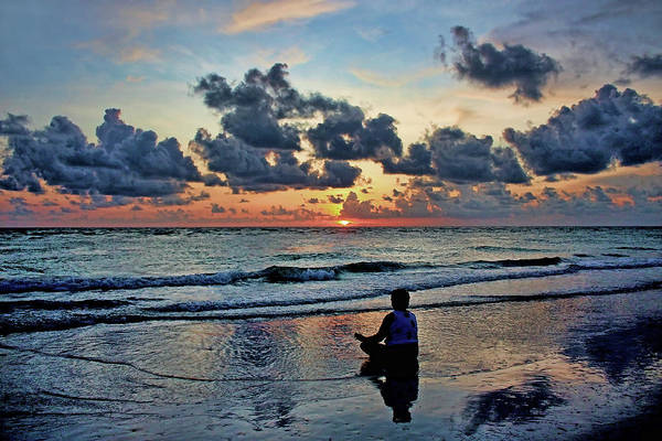 Wall Art - Photograph - Sunset Meditation by HH Photography of Florida