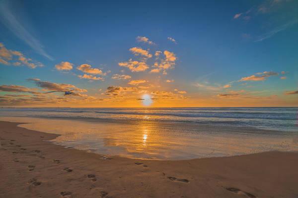 Photograph - Sunset Mission Beach by Jonathan Hansen
