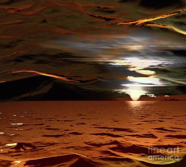 Wall Art - Photograph - Sunset Mystery by Elaine Hunter