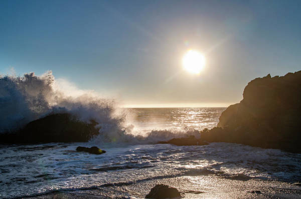 Photograph - Sunset - Northern California - Black Sands Beach by Bill Cannon