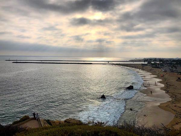 Photograph - Sunset Of Corona Del Mar  by Brian Eberly