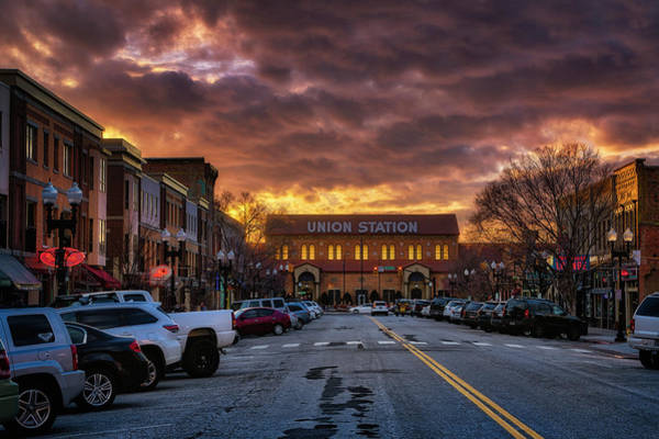 Photograph - Sunset On 25th Street by Michael Ash