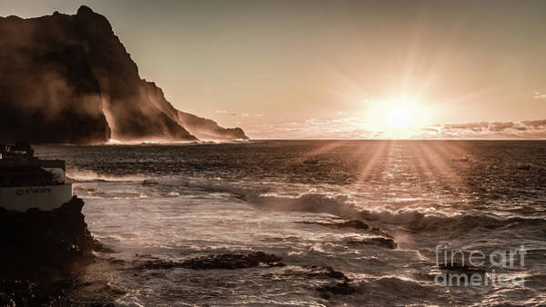 Photograph - Sunset On Santo Antao, Cape Verde by Lyl Dil Creations