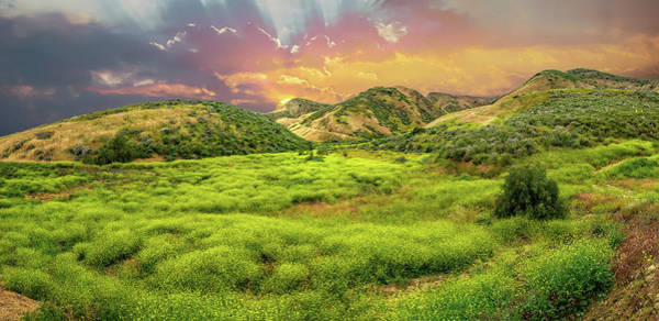 Photograph - Sunset On Spring In Simi Valley by Lynn Bauer