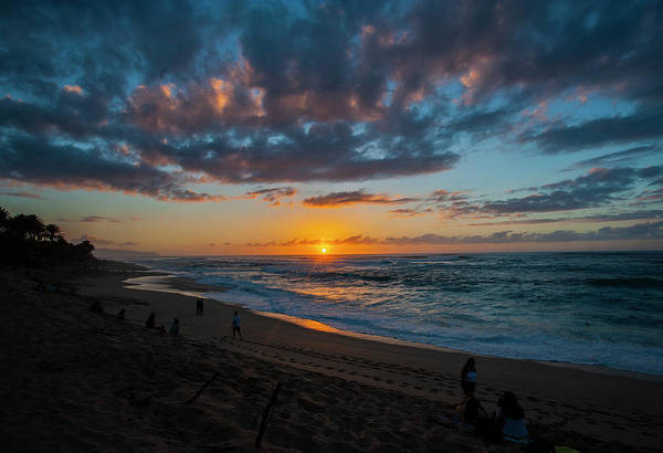 Photograph - Sunset On Sunset Beach by Anthony Jones