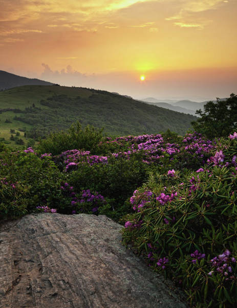 Wall Art - Photograph - Sunset On The Appalachian Trail by Jerry Whaley