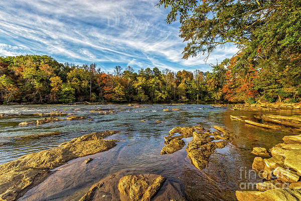 Photograph - Sunset On The Chattahoochee River by Bernd Laeschke