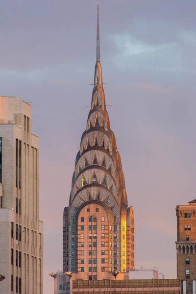 Photograph - Sunset On The Chrysler Building by Mark Hunter