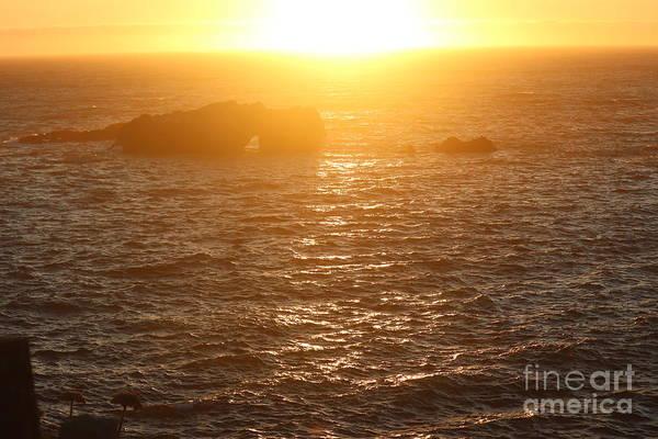 Photograph - Sunset On The Coast by Cynthia Mask
