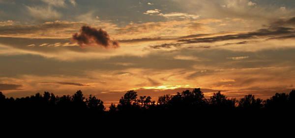 Photograph - Sunset On The Farm by Karen Harrison