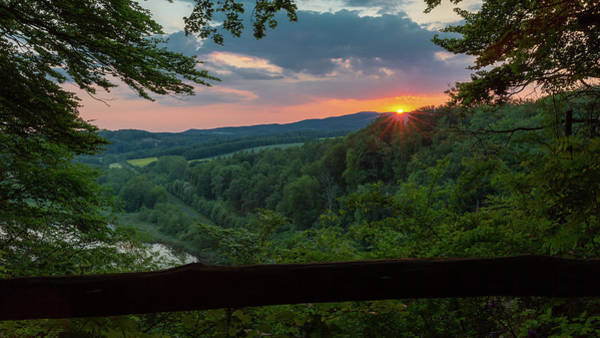 Photograph - Sunset On The Himmelreich, Southern Harz by Andreas Levi