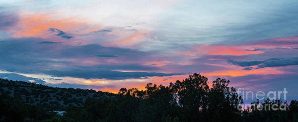 Photograph - Sunset Ortiz Mountains by Steven Natanson