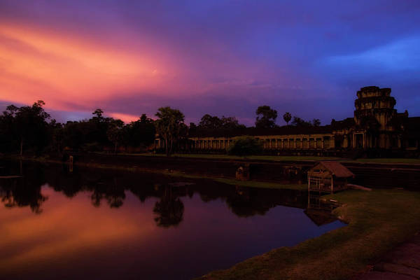 Hindu Photograph - Sunset Over Angkor Wat by El-branden Brazil