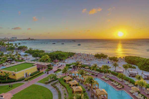 Photograph - Sunset Over Aruba by Scott McGuire