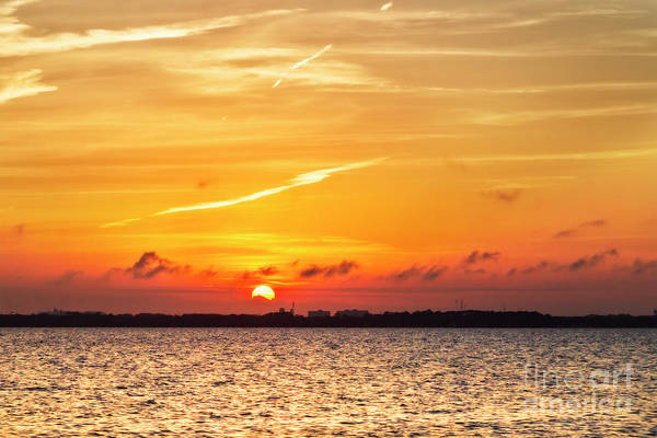 Choctawhatchee Bay Photograph - Sunset Over Destin by Kay Brewer