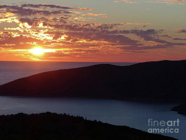 Photograph - Sunset Over Montenegro And Croatia by Phil Banks
