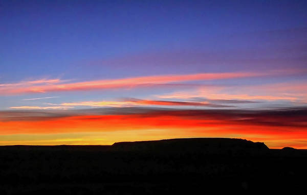 Sunset Over Navajo Lands Art Print