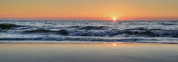 Wall Art - Photograph - Sunset Over North Sea At Island by Photograph By Dr. Andreas Zachmann