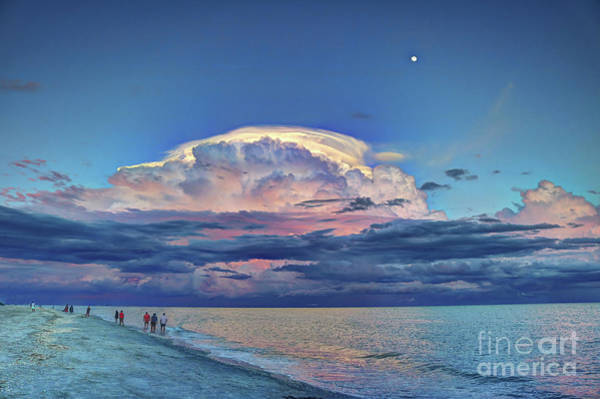 Photograph - Sunset Over Sanibel Island by Jeff Breiman