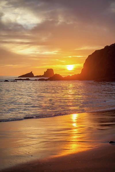 Photograph - Sunset Over Seal Rocks by Cliff Wassmann
