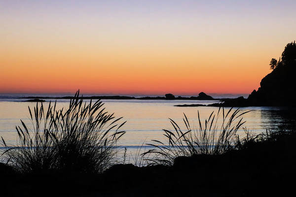 Photograph - Sunset Over Sunset Bay, Oregon 6 by Dawn Richards