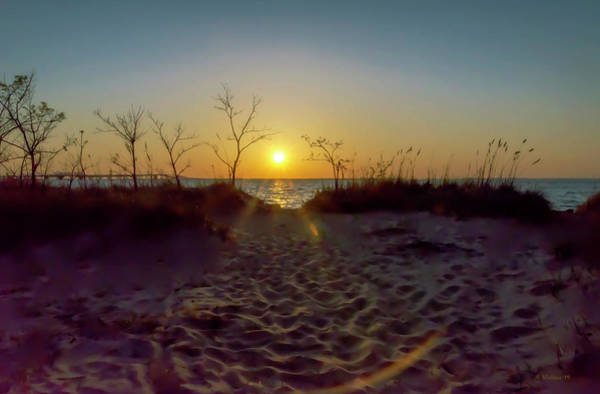 Wall Art - Photograph - Sunset Over The Dunes by Brian Wallace